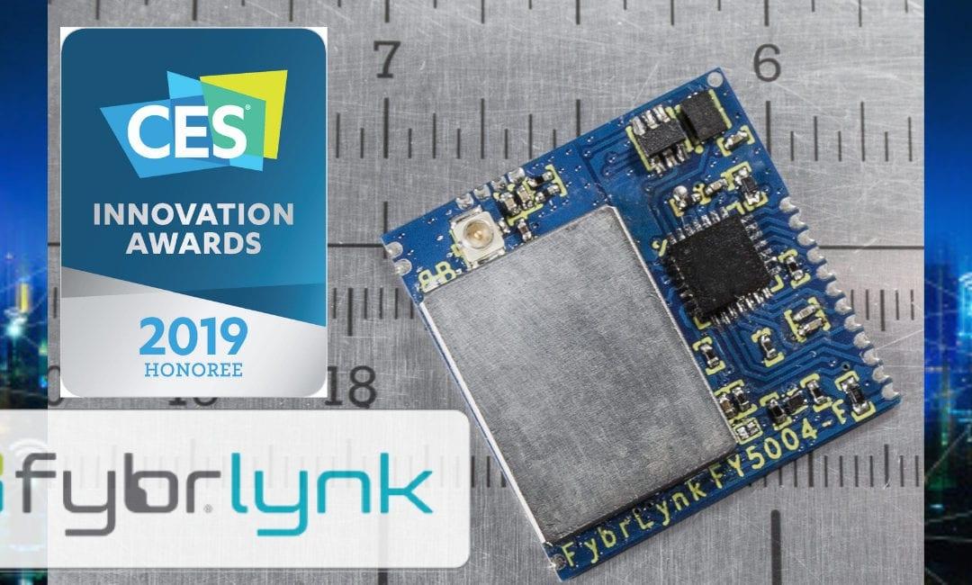 Fybr Wins CES 2019 Innovation Award
